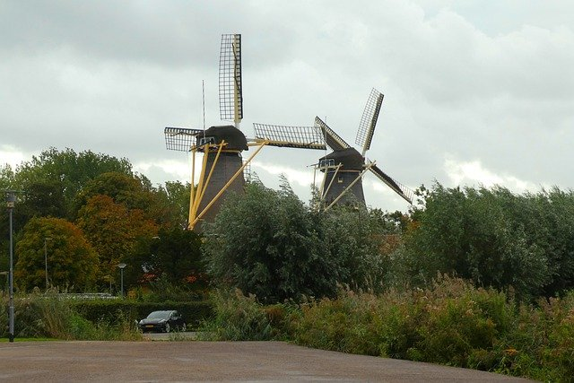 wind mill in The Netherlands