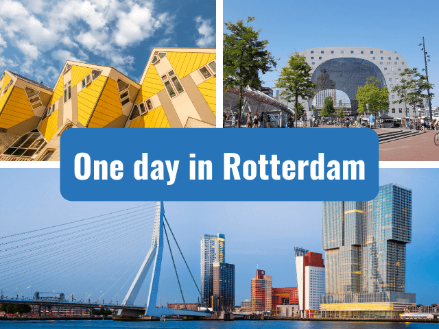 one day in rotterdam