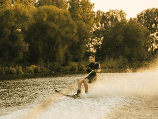 giethoorn waterskiing