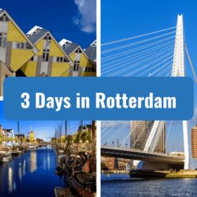 3 days in rottedam