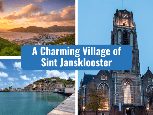 a charming village of sint jansklooster