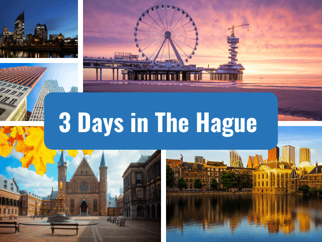three 3 days in the hague