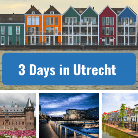 three 3 days in utrecht